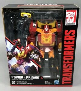 Transformers ~ POWER OF THE PRIMES LEADER CLASS RODIMUS PRIME ACTON FIGURE