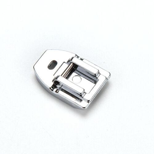 Domestic Nähmaschine unsichtbarer Reißverschluss Conceal Fuß für Brother Sing ZP