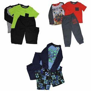 Saint Eve Boys/' 3-piece Pajama Set Black, L