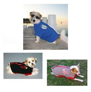 K9-Fleece-Puppy-Dog-Jackets-Blue-Black-amp-Grey-Length-15cm-25cm-46cm-56cm