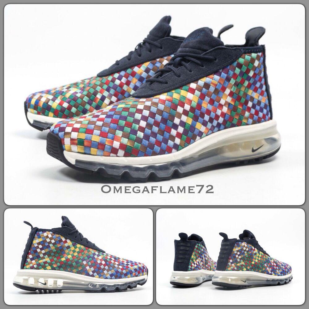 Nike Air Max Woven Bottes, multicolore, AH8139-400, UK 9, EU 44, US 10-