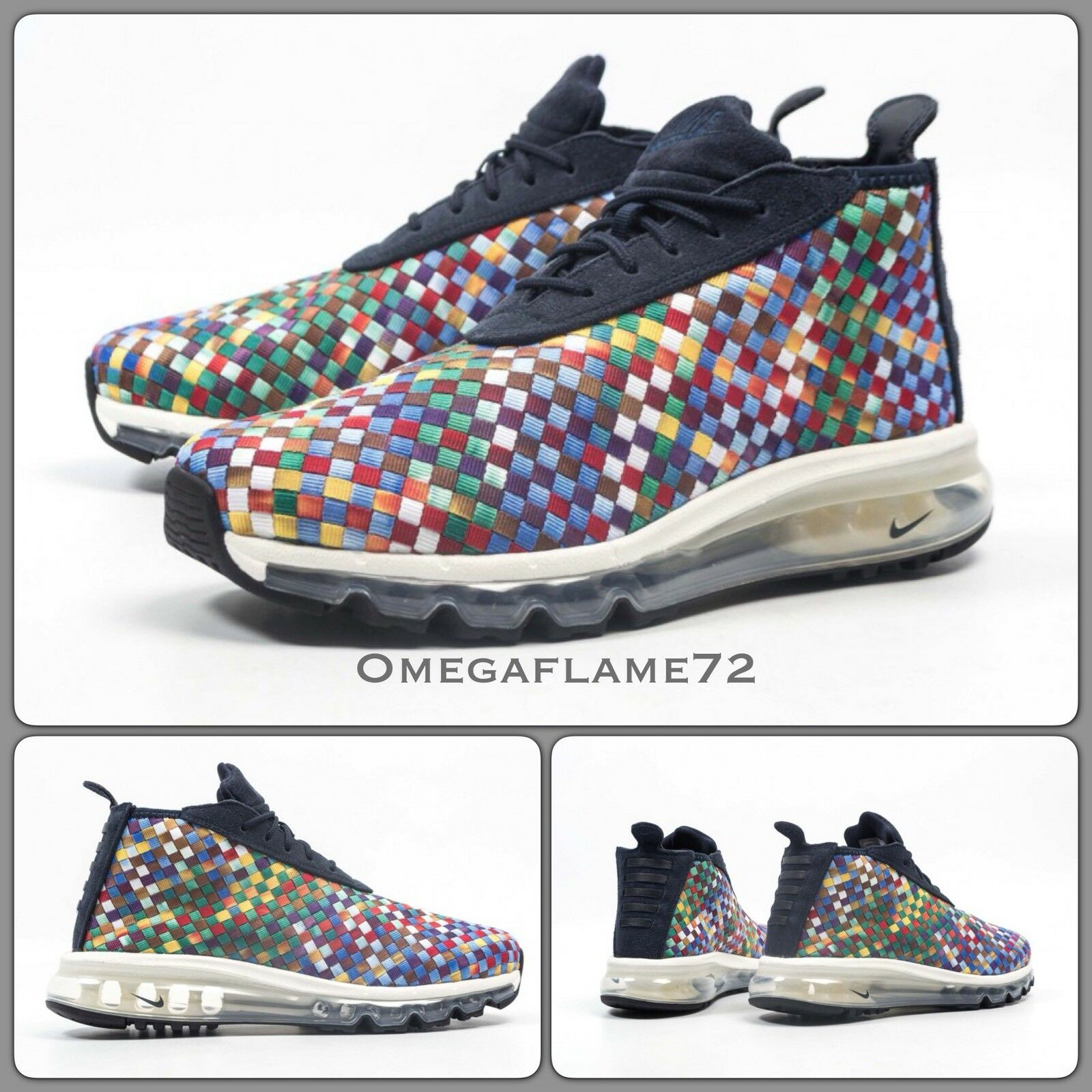 Nike Air Max Woven Boot, Multicoloured, AH8139-400,9, EU 44, US 10