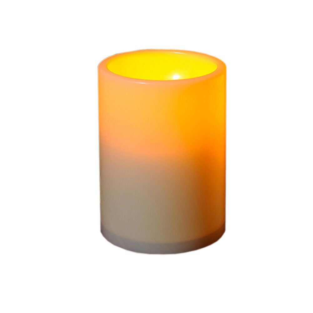 "3"" LED Indoor/Outdoor Flameless Tealights Flickering Tea Lig"