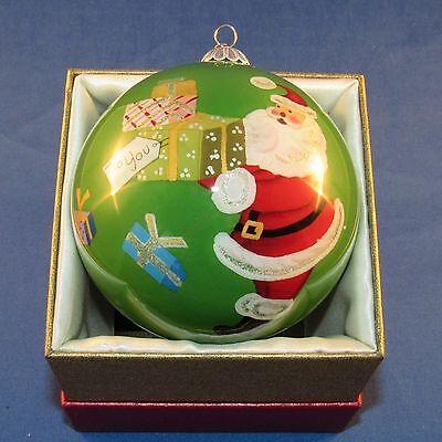 Pier 1 Imports - 2015 - Li Bien Christmas Ornament - Santa with Gifts - NEW