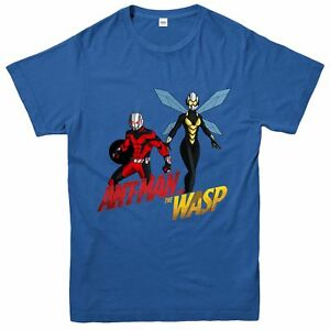 Ant-Man And The Wasp T-Shirt, Marvel Comics Superheroes Inspired Tee Top