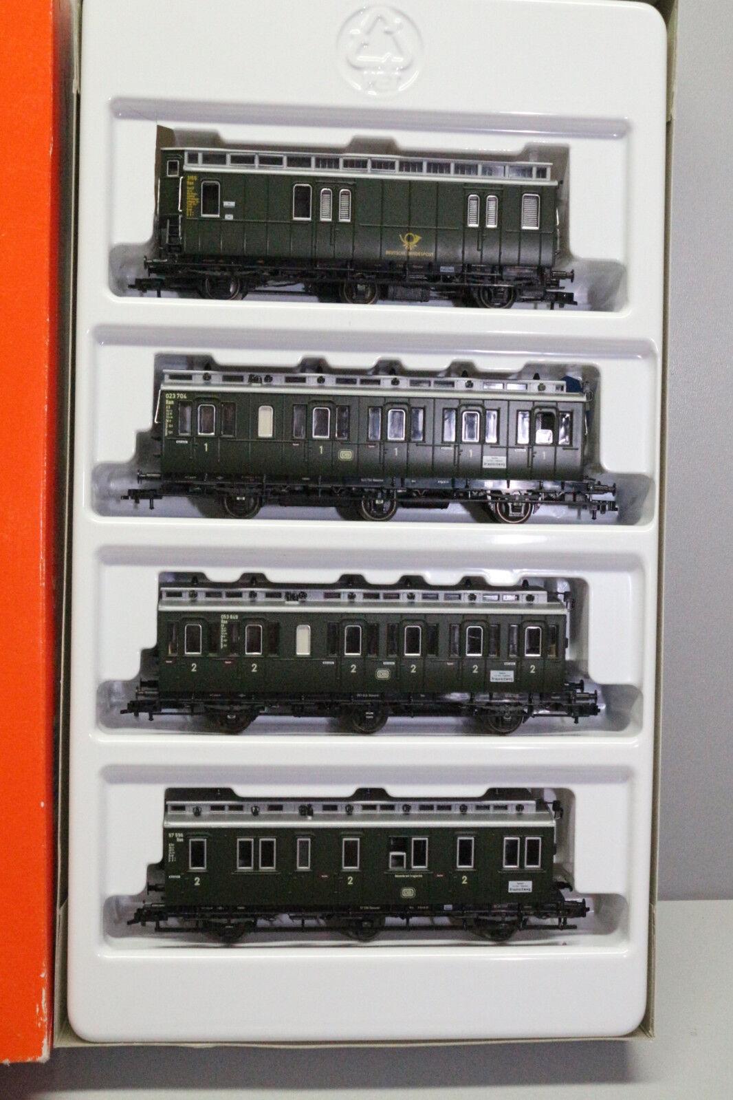 Roco 44056 Personenwagen -Set 3 -achsige Personenwagen Spur H0 OVP