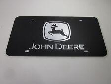 John Deere Acrlic Mirror License Plate Auto Tag nice