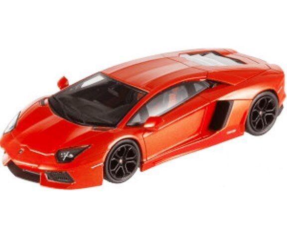 varm HJULER Lamborghini Aventador (orange) 1  43 skala tärningskast modellllerler NEW, SEALD