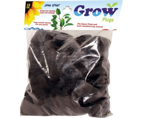 Bag of 55 SAVE $$ W// BAY HYDRO Jump Start Smart Float Grow Tray Refill Plugs