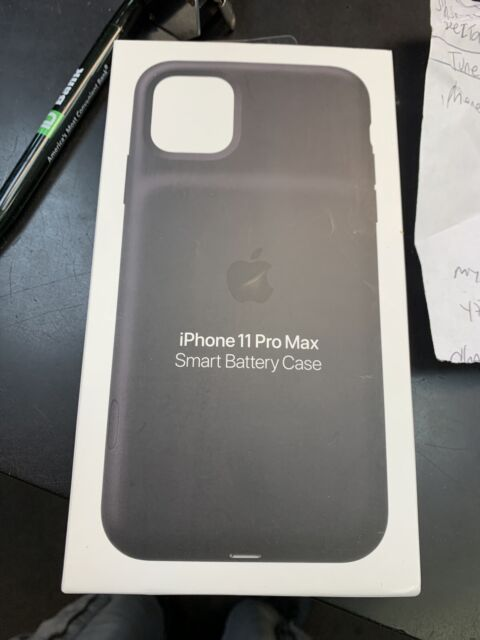 Brand New Apple Smart Battery Case for iPhone 11 Pro Max Black