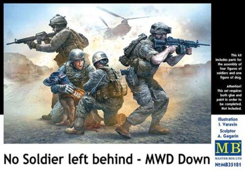 MASTERBOX US NO SOLDIER LEFT BEHIND MWD DOWN 1:35 cod.35181