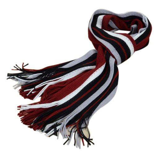 Affairs Scarves Knit Scarf Striped Scarf Scarf Tassel Scarf Fringed Muffler