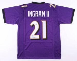 Details about Mark Ingram Signed Baltimore Ravens Jersey (Beckett COA) 2xPro Bowl Running Back