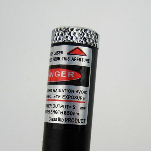 10PCS 1mw 650nm Red Laser Pointer Pen High Powered Visible Beam Light Laser USA