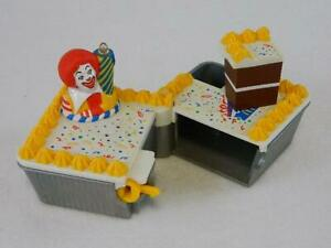 Excellent Rare 1999 Hasbro Mcdonalds Ronald Birthday Cake From Set Ebay Birthday Cards Printable Nowaargucafe Filternl