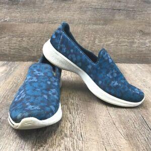 Skechers Goga Max Women's Blue Floral