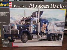 Revell of Germany 7545 Peterbilt Alaskan Hauler.  Tri-drive. 1/25 scale.