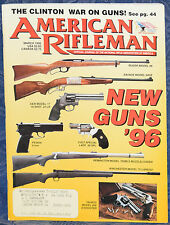 Magazine American Rifleman, MARCH 1996 !!! BROWNING Model BT-100 SHOTGUN !!!