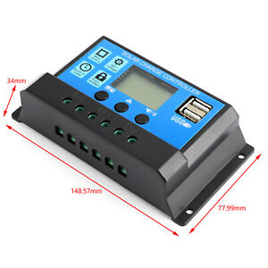 10A-60A-PWM-Controlador-de-Carga-Solar-Panel-Bateria-Regulador-12V-24V-Dual-USB