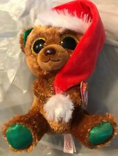 item 5 Ty NICHOLAS Sparkly Brown Bear 6