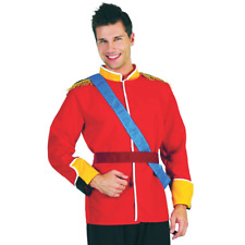 Adult Royal Prince Charming Costume Mens William Panto Fancy Dress New