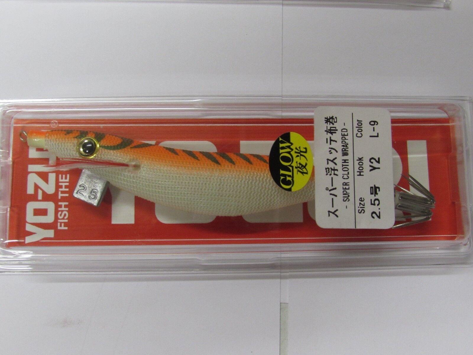 TOTANARA YO-ZURI SQUID JIG SUPER L-10 EGI 2.5 JIBIONERA TURLUTTE EGING LURE