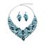 Fashion-Women-Pendant-Crystal-Choker-Chunky-Statement-Chain-Bib-Necklace-Jewelry thumbnail 52