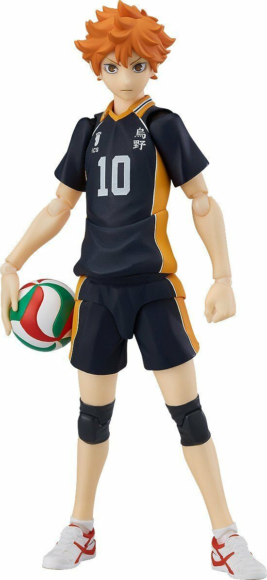 Orange Rouge Haikyu   Shoyo Hinata figma 135mm Action Figure