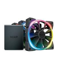 NZXT AER RGB 2 Starter Kit Hf-2812c-t1 3x 120mm LED Case Fan With Hue 2