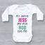 Personalised My Auntie /& Uncle Love Me Unisex Baby Grow Bodysuit