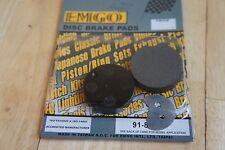 EMGO brake  PADS for SUZUKI GT125 1975-1978 GT185 1976-1977 GT250 HUSTLER 1973-