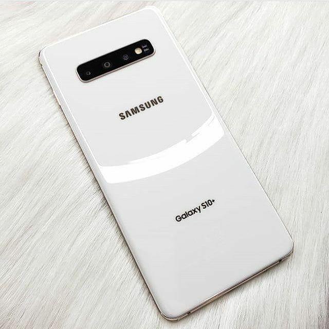 Samsung Galaxy S10+ SM-G975U - 512GB - Ceramic White (AT&T) 1 YR WARRANTY