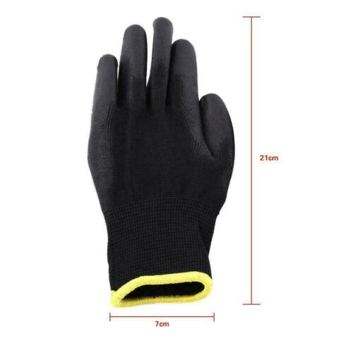 Sicherheit Handschuhe Arbeit Flexible Finger Handfläche Mechanische Werkstatt