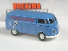 aus 2002: Brekina 32011 VW T1 Kasten Bosch Dienst in OVP