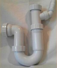 Sink Waste P Trap with Single Spigot Branch for Washing Machine Dish Washer etc