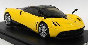 GT-Autos-1-43-Scale-41011GW-Pagani-Huayra-Supercar-Yellow-Diecast-Model-car