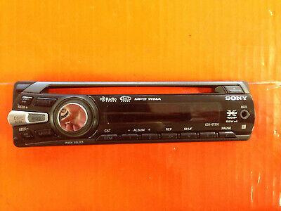 SONY CDX-GT330 FACEPLATE