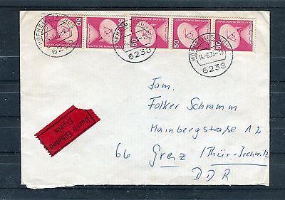 B1494 851 Als Mef Ehrlichkeit Eilboten-brief Brd Mi.-nr