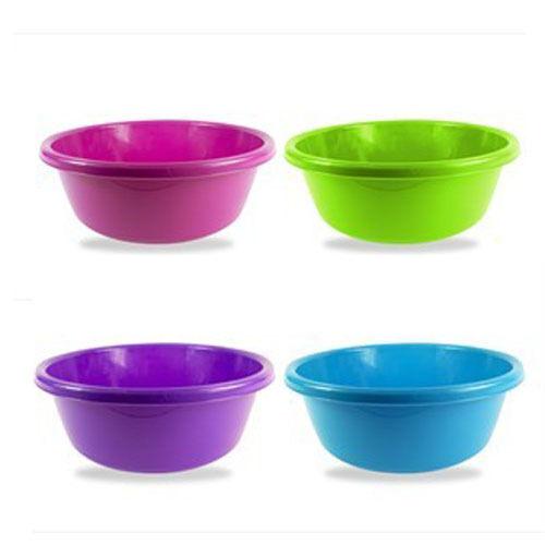 2 x 32cm Medium Circular Round Kitchen Sink Washing Up Bowl Basin Mixing Bowls