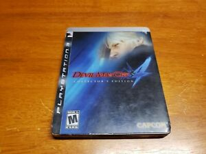 Devil-May-Cry-4-Collector-039-s-Edition-Sony-PlayStation-3-PS3-with-Steelbook