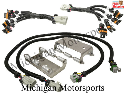 Coil Pack Relocation Kit for LS1 LS6 D580 Stainless Steel Brackets and Harness