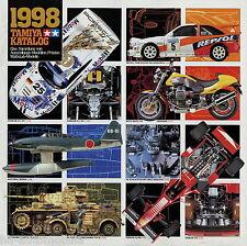 Katalog Tamiya 1998 catalogue catalog scale model kits Modellbau Bausätze Modell