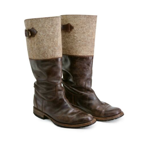 SENDRA BOOTS women lady size EU40, UK7, US 7 1/2 brown made in Spain Authentic