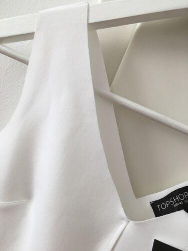 Weiß Shop Top M Elegant Gr Peplum wie 12 Uk 40 Schößchen S Neu Luxus 36 l w5ITnFwq