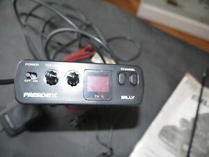 RADIO CB MOBILE PRÉSIDENT BILLY 40 CANAUX AM + ANTENNE   eBay