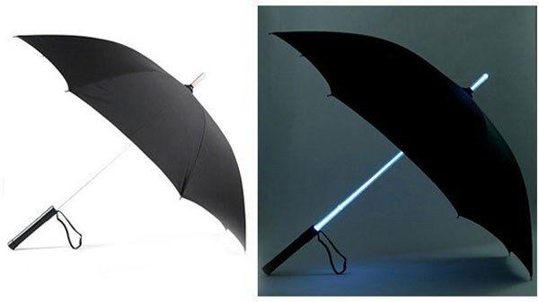 Star Wars Cool Blade Runner Light Saber LED Flash Light Handle Umbrella#US