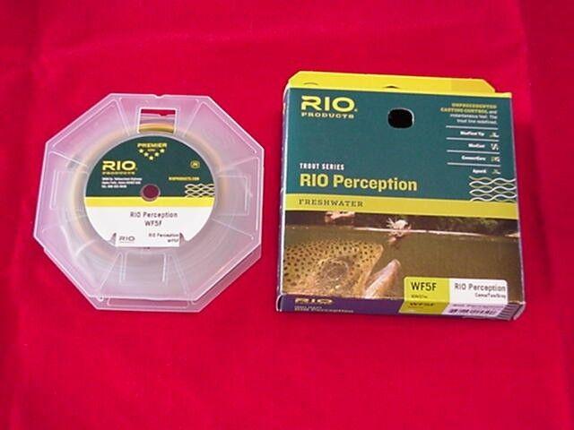 Rio In Touch Perception WF7F Fly Line GREAT NEW