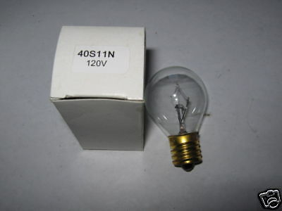 120V COMPACT REPLACEMENT BULB MODEL# 40S11N