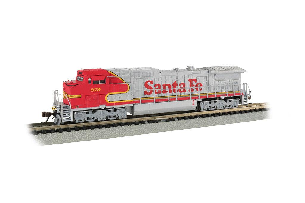 Calibre N - - Bachmann-Santa Fe Dash 8-40CW  879