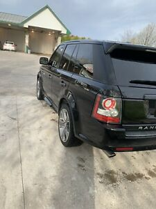 2010 Landrover Range Rover Sport Suoercharged